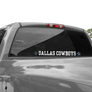 Dallas Cowboys 2″ x 19″ Letters Die Cut Decal
