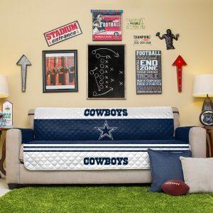 Dallas Cowboys Blue Sofa Protector