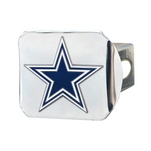 Dallas Cowboys Color on Chrome Hitch Cover