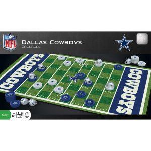 Dallas Cowboys NFL Checkers Set