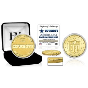 Highland Mint Dallas Cowboys 2018 NFC East Division Champions Bronze Mint Coin