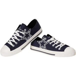 Men's Dallas Cowboys Big Logo Low Top Sneakers