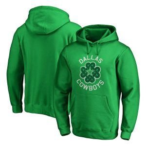 Men's Dallas Cowboys St. Patrick's Day Luck Tradition Pullover Hoodie