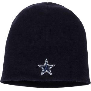 NFL Pro Line by Fanatics Branded Dallas Cowboys Navy Core Uncuffed Knit Beanie