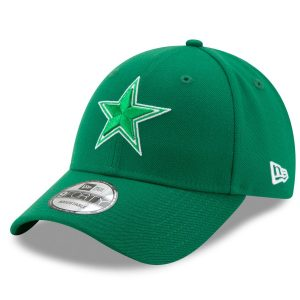 New Era Dallas Cowboys Kelly Green St. Patrick's Day League 9FORTY Adjustable Hat