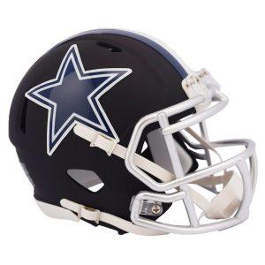 Riddell Dallas Cowboys Black Matte Alternate Speed Mini Football Helmet