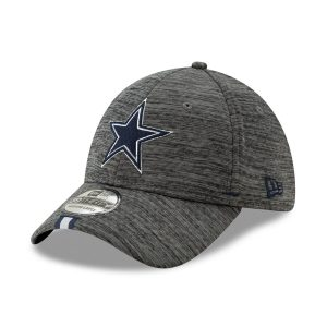 Men's Dallas Cowboys New Era Graphite 2019 NFL Training Camp 9TWENTY Adjustable Hat