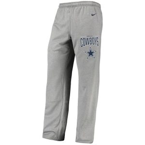 Men's Dallas Cowboys Nike Charcoal Sideline Practice Performance Pants