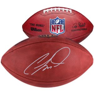 CeeDee Lamb Dallas Cowboys Autographed Duke Game Football
