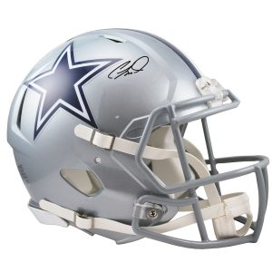 CeeDee Lamb Dallas Cowboys Autographed Riddell Speed Authentic Helmet