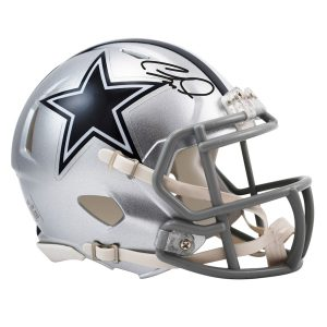 CeeDee Lamb Dallas Cowboys Autographed Riddell Speed Mini Helmet