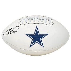 CeeDee Lamb Dallas Cowboys Fanatics Authentic Autographed White Panel Football
