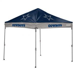 Dallas Cowboys Coleman 10′ x 10′ 2-Tone Straight Leg Canopy Tent