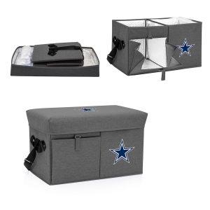 Dallas Cowboys Gray Ottoman Cooler & Seat