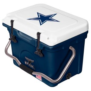 Dallas Cowboys ORCA White/Navy 20-Quart Hard-Sided Cooler