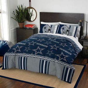 Dallas Cowboys The Northwest Company 5-Piece Full Bed in a Bag Set