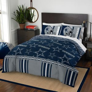 Dallas Cowboys The Northwest Company 5-Piece Queen Bed in a Bag Set