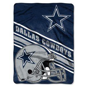 """Dallas Cowboys The Northwest Company 60"""" x 80"""" Slant Rashcel Throw"""