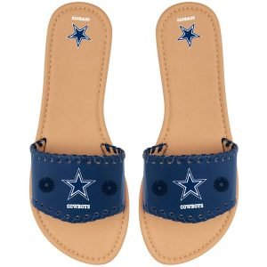 Women's Dallas Cowboys Single Strap Sandals