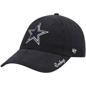'47 Dallas Cowboys Women's Navy Miata Clean Up Adjustable Hat