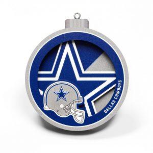 Dallas Cowboys 3D Logo Series Ornament
