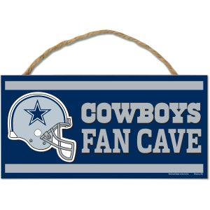 "Dallas Cowboys WinCraft 5"" x 10"" Rope Wood Sign"