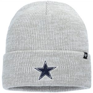 Men's Dallas Cowboys '47 Gray Brain Freeze Cuffed Knit Hat