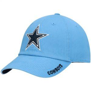 Men's Dallas Cowboys Light Blue Slouch Adjustable Hat