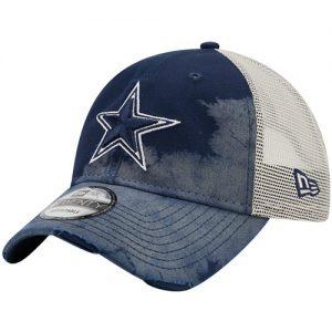 New Era Dallas Cowboys Faded Trucker 9TWENTY Snapback Hat