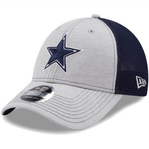 New Era Dallas Cowboys Youth Heathered Stealth Neo 9FORTY Snapback Hat
