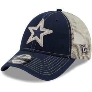 New Era Dallas Cowboys Youth Rugged Trucker 9FORTY Snapback Hat